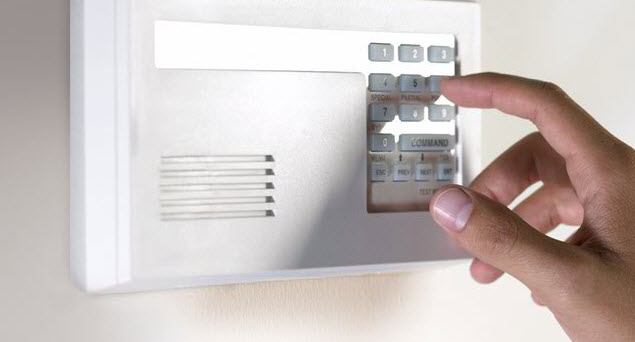 i-SEE Integrated Security Electronic Enterprises a division of Girsh Alarm touchpad